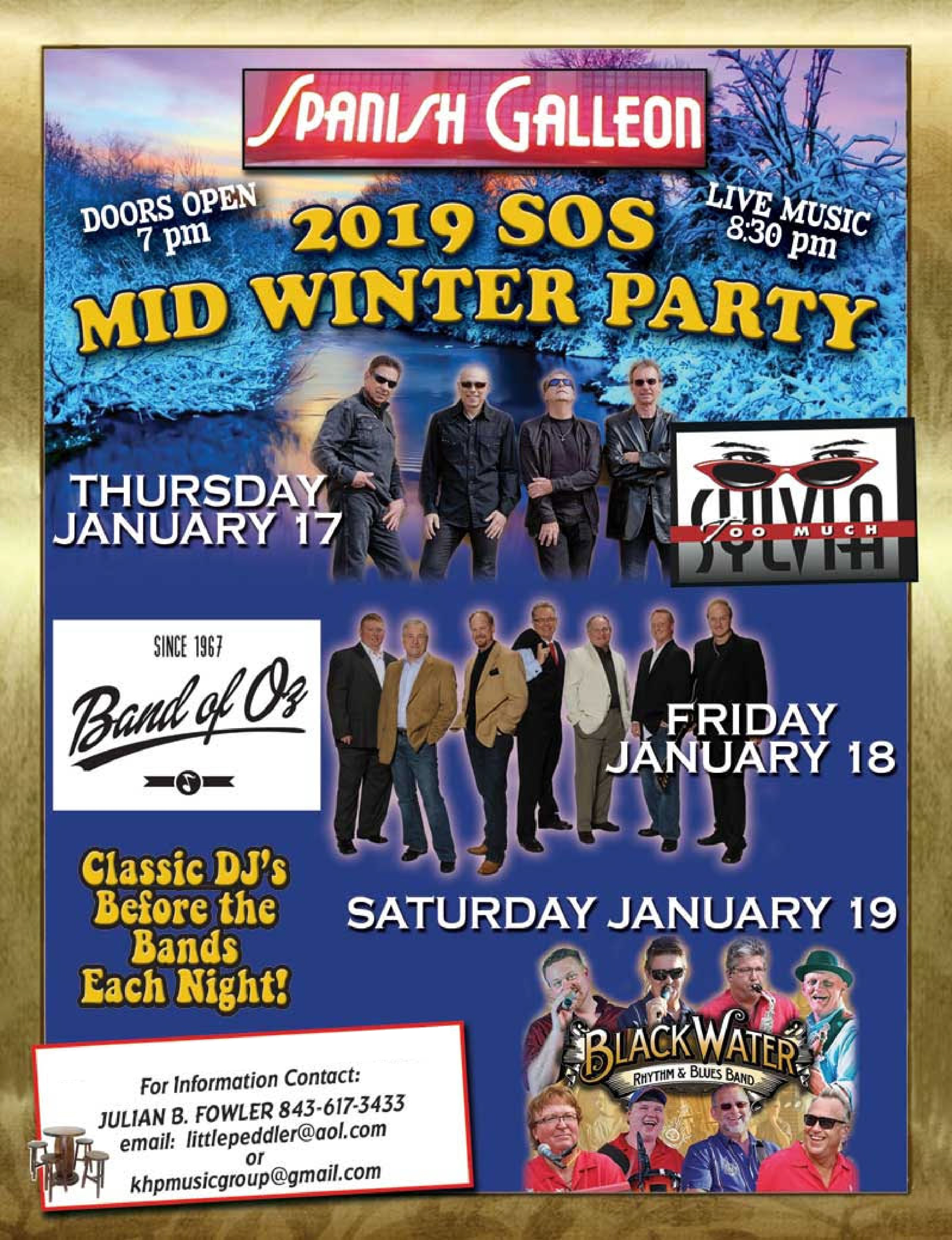 Who is coming to MidWinter SOS? - Surf Countdown - Top Songs