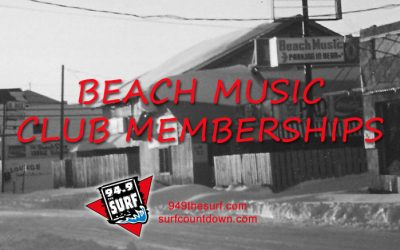 Do you remember Beach Music Club Memberships?