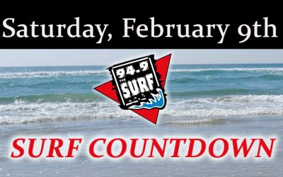 Surf Countdown – February 9th
