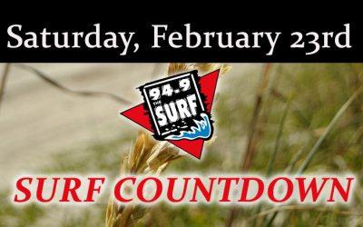 Surf Countdown – February 23rd