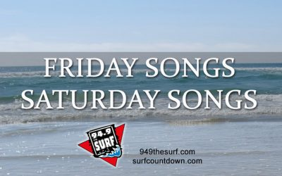 Can you Name Friday and/or Saturday Night Songs?