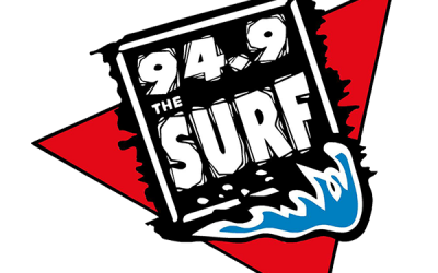 Where do you listen to 94.9 The Surf?
