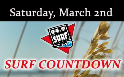 Surf Countdown – March 2nd