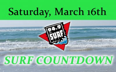 Surf Countdown – March 16th