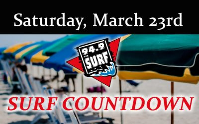Surf Countdown – March 23rd