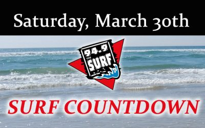Surf Countdown – March 30th