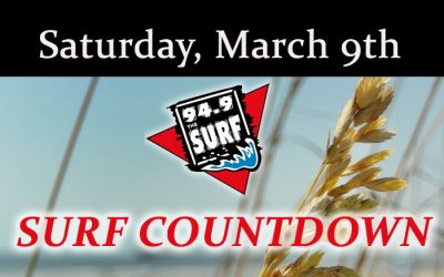 Surf Countdown – March 9th