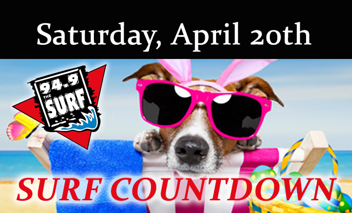Surf Countdown – April 20th