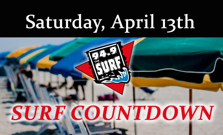 Surf Countdown – April 13th