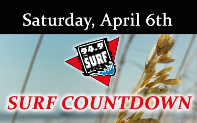 Surf Countdown – April 6th