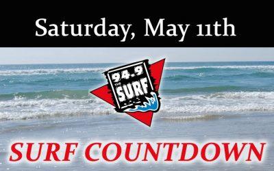 Surf Countdown – May 11th