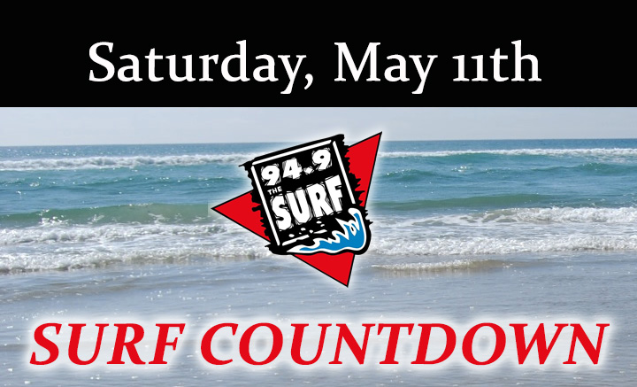 Surf Countdown – May 11th