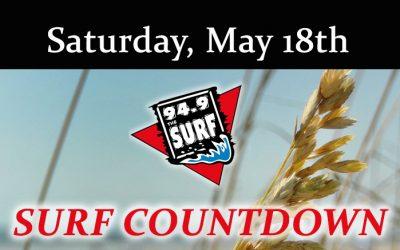 Surf Countdown – May 18th