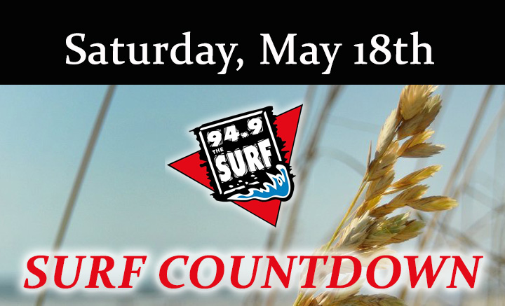 Surf Countdown – May 18th