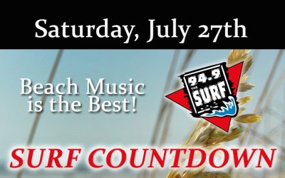 Surf Countdown – July 27th Chart