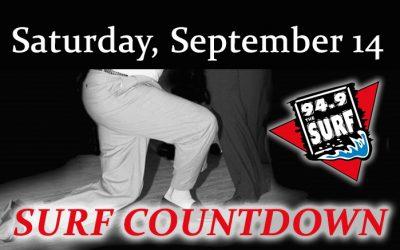 Surf Countdown – September 14