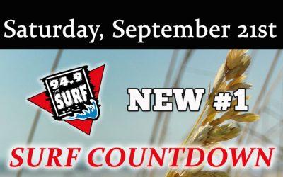 Surf Countdown – September 21st Chart