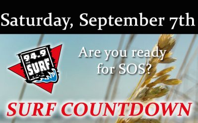 Surf Countdown – September 7th