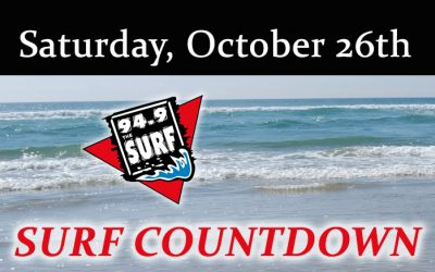 Surf Countdown – October 26th Chart