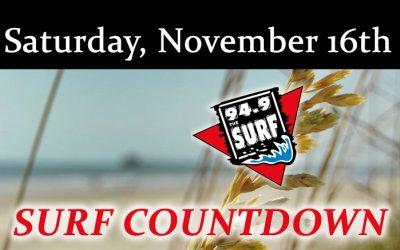 Surf Countdown – November 16th
