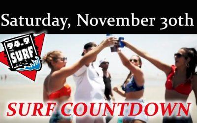 Surf Countdown – November 30th Chart