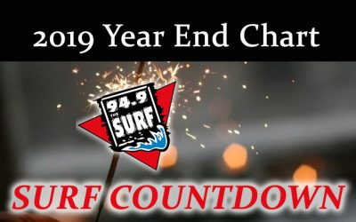 Surf Countdown – 2019 Year End Chart