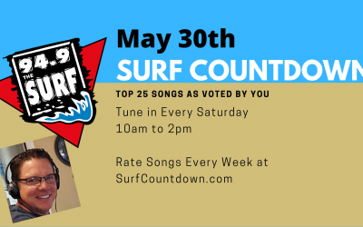 Surf Countdown – May 30th
