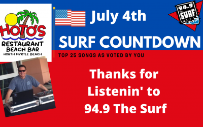 Surf Countdown – July 4th