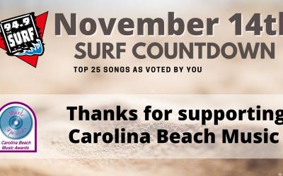 Surf Countdown – November 14th
