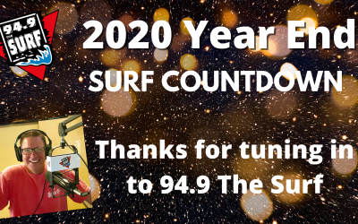 Surf Countdown – 2020 Year End Chart