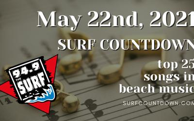 Surf Countdown – May 22nd Chart