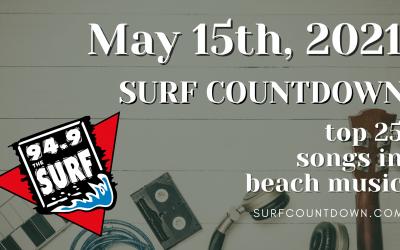 Surf Countdown – May 15th Chart