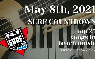 Surf Countdown – May 8th Chart