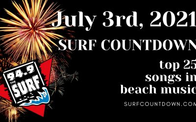 Surf Countdown – July 3rd Chart