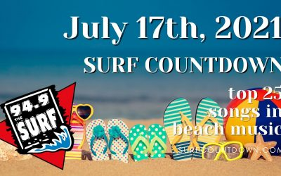 Surf Countdown – July 17th Chart