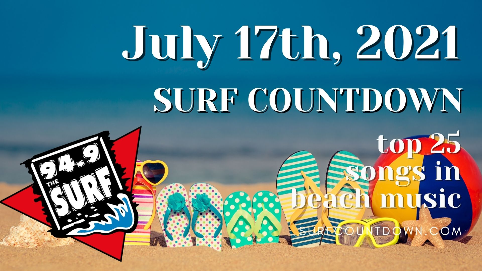 surf countdown july 17