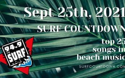 Surf Countdown – September 25th Chart