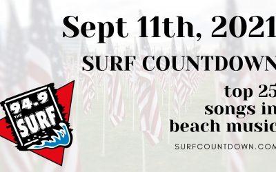 Surf Countdown – September 11th